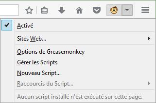 Userscript Script Utilisateur Et Script Greasemonkey
